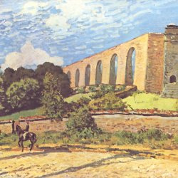 Alfred-Sisley-Aquaedukt-in-Port-Marly