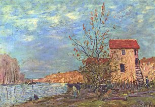 Alfred Sisley Der Loing bei Moret