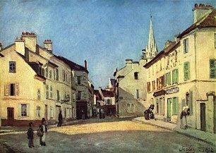 Alfred Sisley Platz in Argenteuil Wandbilder