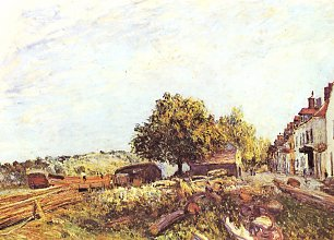 Alfred Sisley Saint Mammes am Morgen