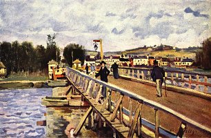 Alfred Sisley Steg in Argenteuil