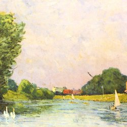 Alfred-Sisley-Themse-bei-Hampton-Court