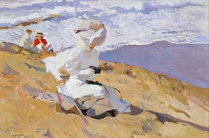 Joaquin Sorolla Capturing the moment Wandbild