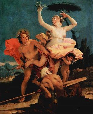 Tiepolo Apollo und Daphne Wandbilder