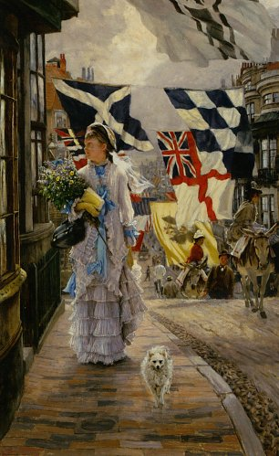 James Tissot A Fete Day at Brighton Wandbild