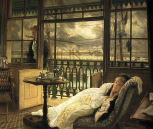 James Tissot A Passing Storm Wandbild