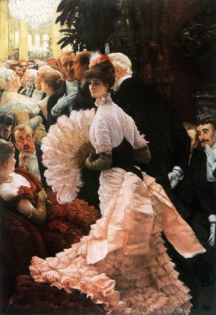 James Tissot A Woman of Ambition Wandbild