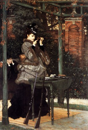 James Tissot At the Rifle Range Wandbild
