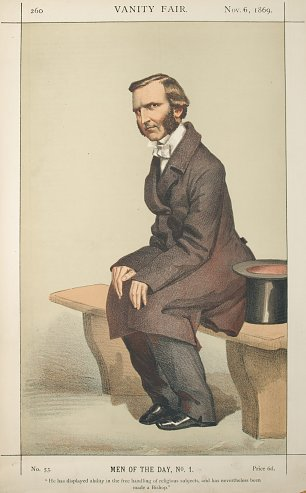 James Tissot Caricature of The Rev Frederick Temple DD Wandbild