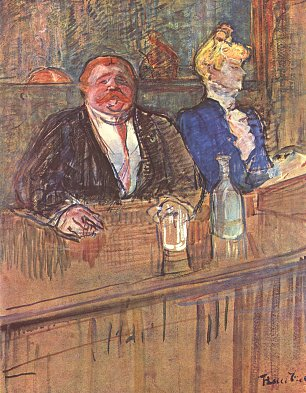 Toulouse Lautrec Die Bar