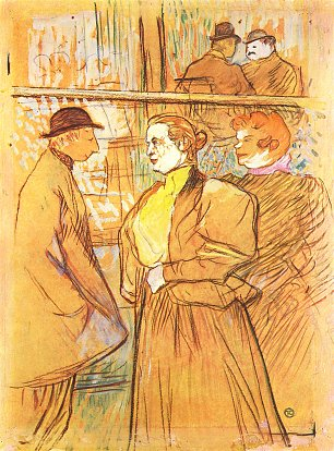 Toulouse Lautrec Im Moulin Rouge 1