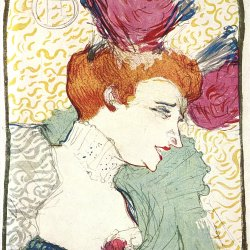 Toulouse-Lautrec-Marcelle-Lender-in-Chilperic