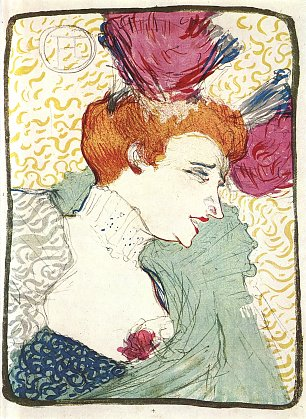Toulouse Lautrec Marcelle Lender in Chilperic