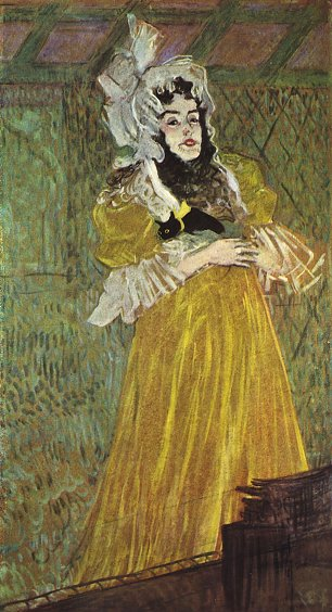 Toulouse Lautrec Portrait der Miss May Belfort