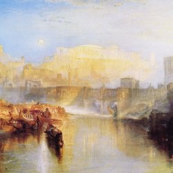 William-Turner-Altes-Rom;-Agrippina-landet-mit-der-Asche-von-Germanicus