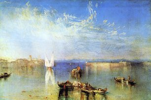 William Turner Campo Santo Venedig Wandbild