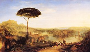 William Turner Childe Harolds Wallfahrt Italien Wandbild