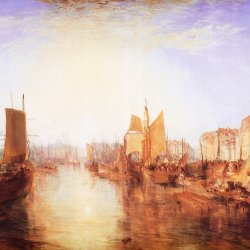William-Turner-Der-Hafen-von-Dieppe-Changement-de-Domicile