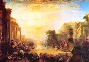 William Turner Der Niedergang des karthagischen Reiches Wandbilder