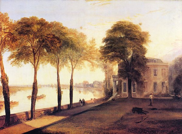 William Turner Der Sitz von William Moffatt Esq bei Mortlake Ein Fruehsommermorgen