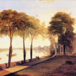 William-Turner-Der-Sitz-von-William-Moffatt-Esq-bei-Mortlake-Ein-Fruehsommermorgen