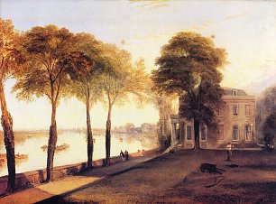 William Turner Der Sitz von William Moffatt Esq bei Mortlake Ein Fruehsommermorgen Wandbild