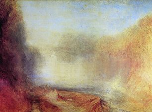 William Turner Der Wasserfall des Clyde Wandbild