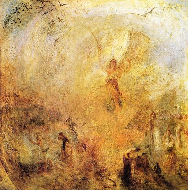William Turner Der in der Sonne stehende Engel