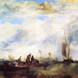 William-Turner-Die-Muendung-der-Maas