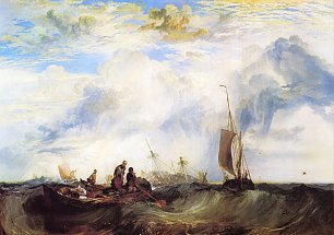 William Turner Die Muendung der Maas Wandbild
