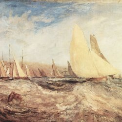 William-Turner-Die-Regatta-segelt-luvwaerts