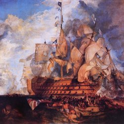 William-Turner-Die-Schlacht-von-Trafalgar