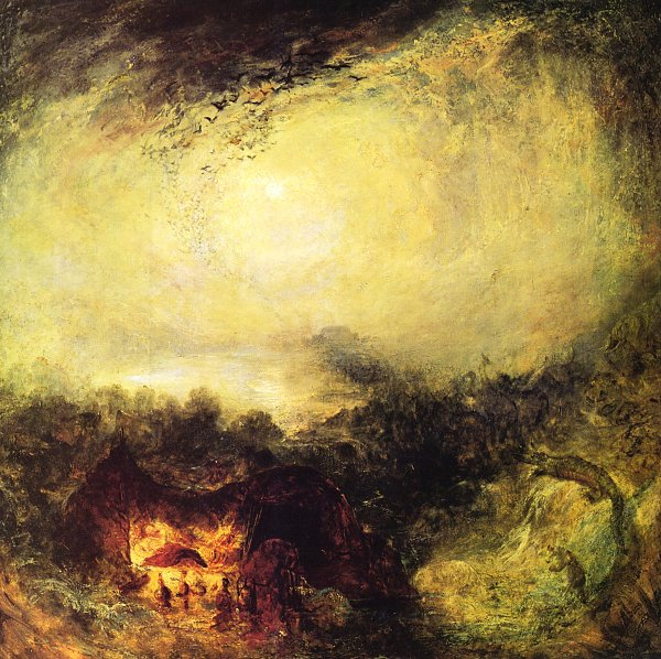 William Turner Die Walton Bruecken 1 Wandbild