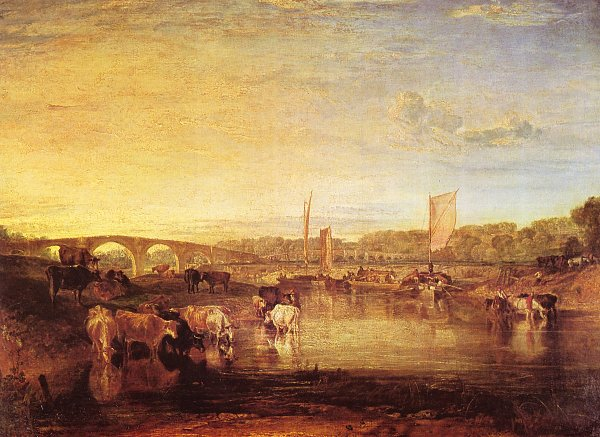 William Turner Die Walton Bruecken 2