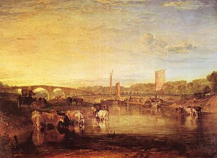 William Turner Die Walton Bruecken 2 Wandbild