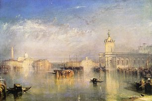 William Turner Dogano San Giorgio Citella von den Treppen Europas