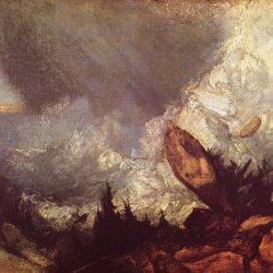 William-Turner-Eine-Lawine-in-den-Grisons