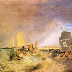 William-Turner-Flotte-an-der-Muendung-der-Themse