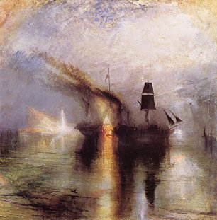 William Turner Frieden Beerdigung auf dem Meer