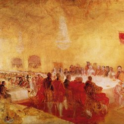 William-Turner-George-IV-beim-Bankett-des-Propstes-im-Parlamentshaus-Edinburgh