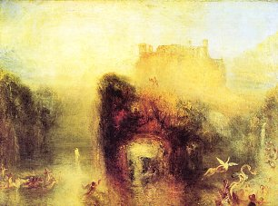 William Turner Koenigin Mabs Hoehle Wandbild