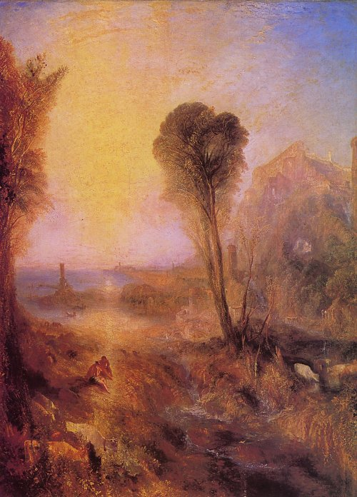 William Turner Merkur und Argus Wandbild