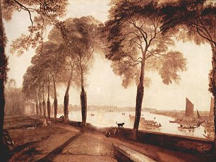 William Turner Mortlake Terrace Wandbild