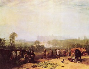 William Turner Rueben pfluegen in der Naehe von Slough Wandbild