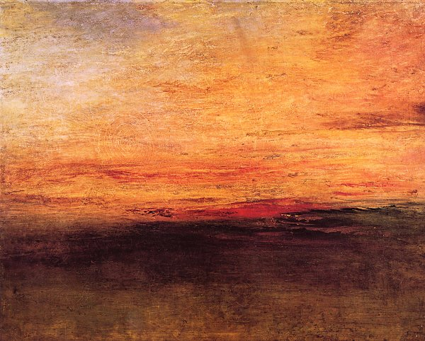 William Turner Sonnenuntergang