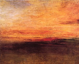 William Turner Sonnenuntergang Wandbild