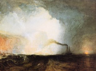 William Turner Staffa Fingals Hoehle Wandbild