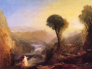 William Turner Tivoli Tobias und der Engel Wandbild