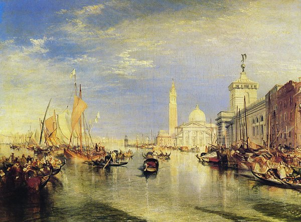 William Turner Venedig Wandbild