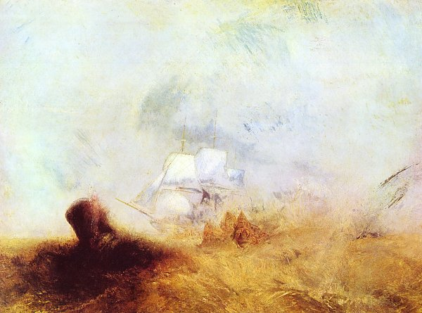 William Turner Walfaenger 2 Wandbild